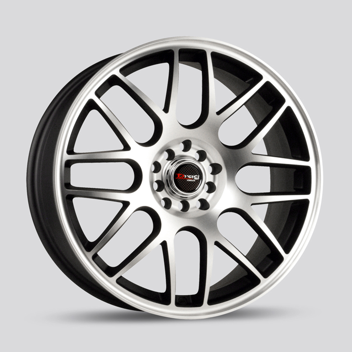 Drag Wheels DR34 - Flat Black / Machined Face Rim