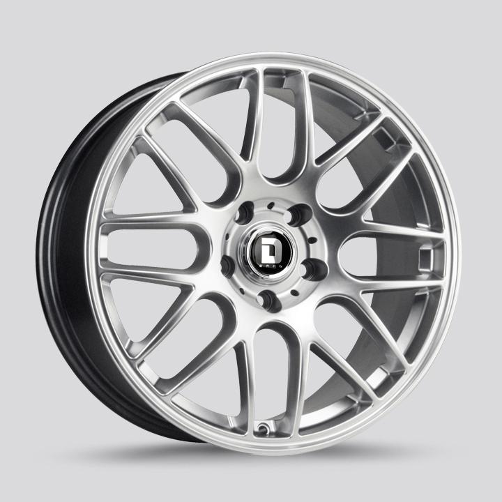Drag Wheels DR37 - Hyper Silver Rim