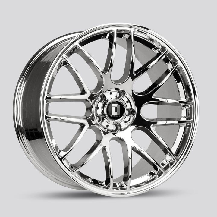 Drag Wheels DR37 - Virtual Chrome Rim