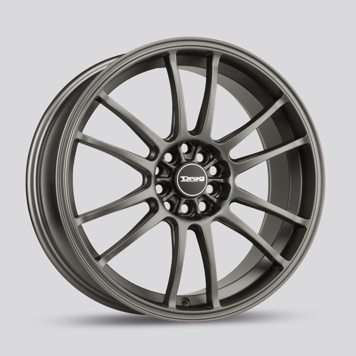 Drag Wheels DR38 - Charcoal Gray