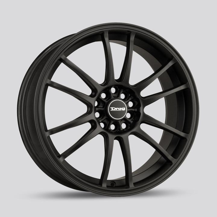 Drag Wheels DR38 - Flat Black Rim