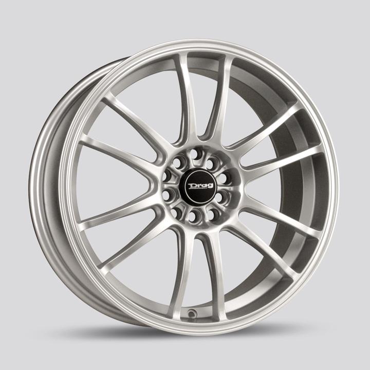 Drag Wheels DR38 - Silver Rim