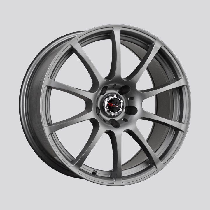 Drag Wheels DR49 - Charcoal Gray Rim
