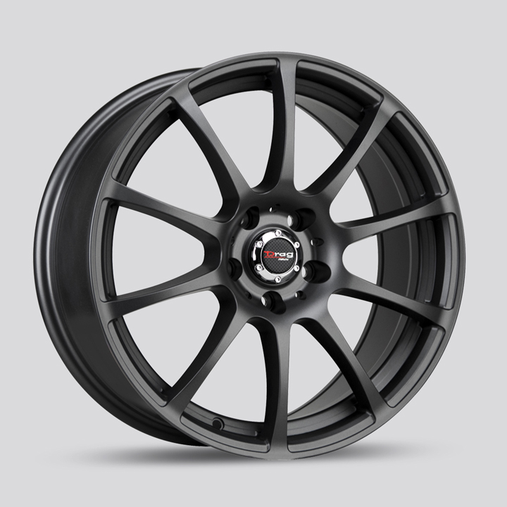 Drag Wheels DR49 - Flat Black