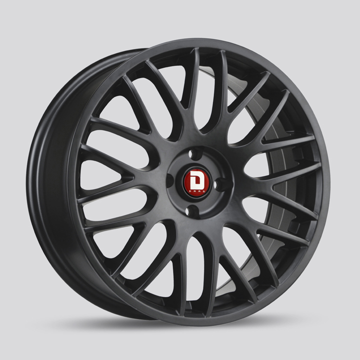 Drag Wheels DR61 - Flat Black