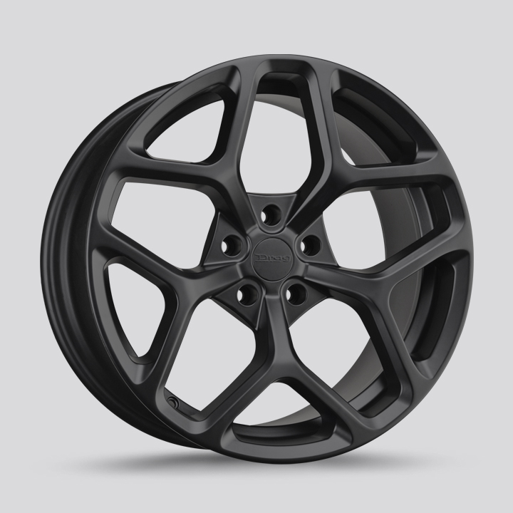 Drag Wheels DR64 - Flat Black