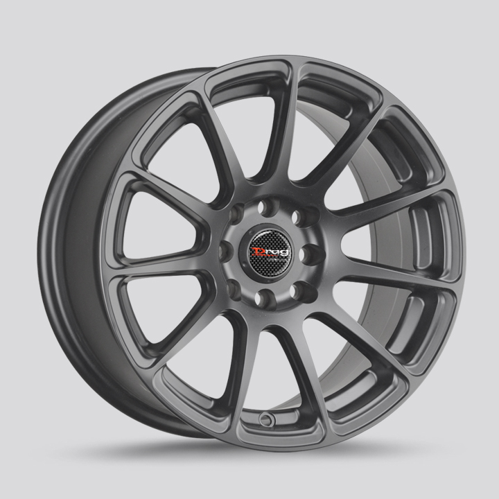 Drag Wheels DR66 - Charcoal Gray