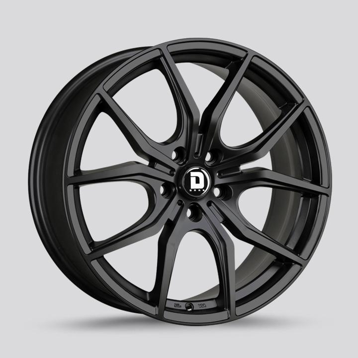 Drag Wheels DR67 - Flat Black Rim