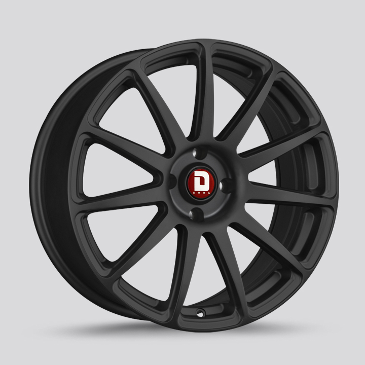 Drag Wheels DR68 - Flat Black