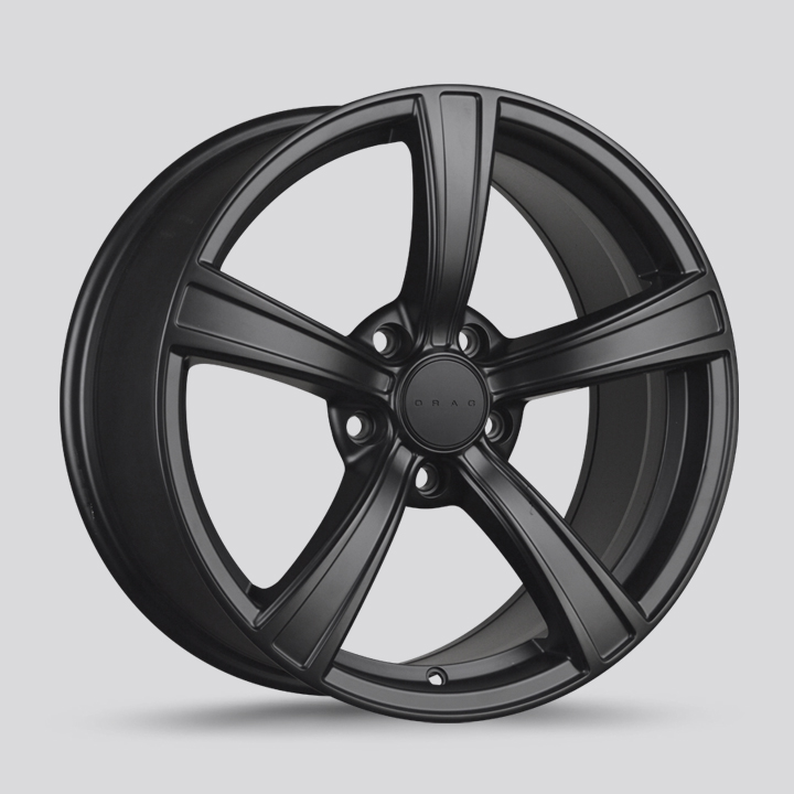 Drag Wheels DR72 - Flat Black