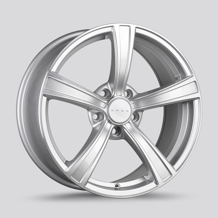 Drag Wheels DR72 - Silver with Machined Face