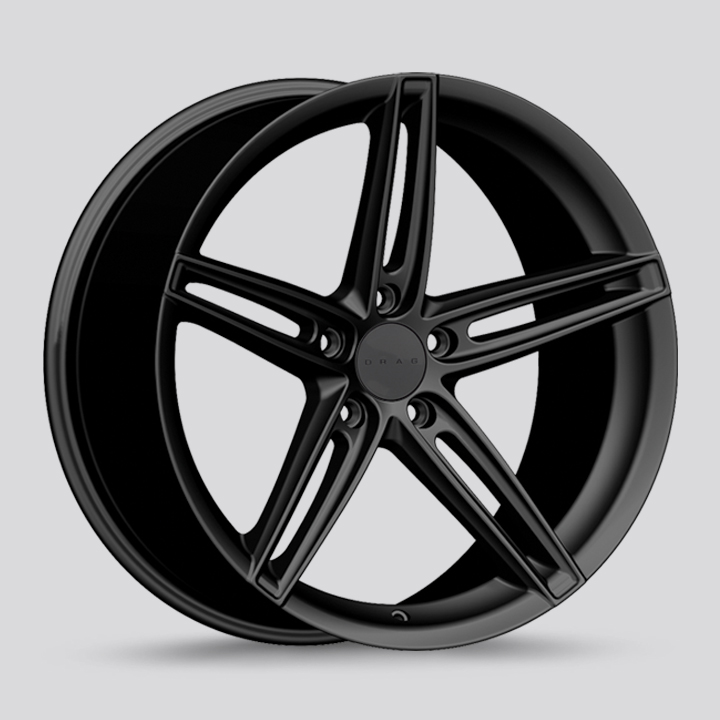 Drag Wheels DR73 - Flat Black Rim