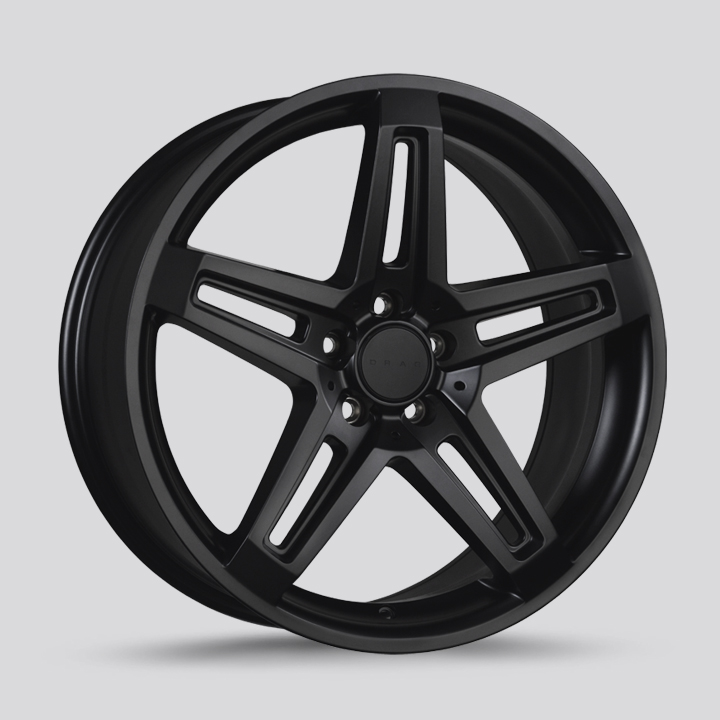 Drag Wheels DR74 - Flat Black