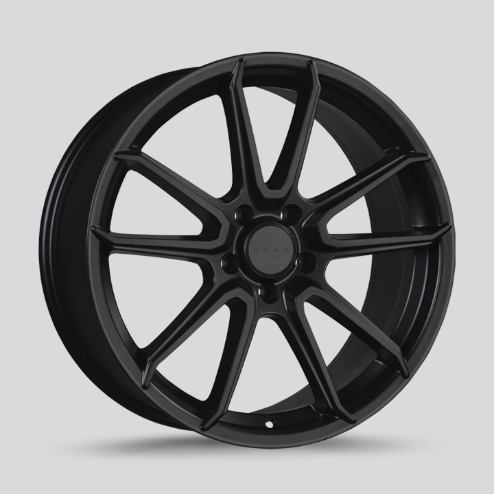 Drag Wheels DR76 - Flat Black Rim
