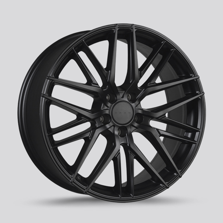 Drag Wheels DR77 - Flat Black