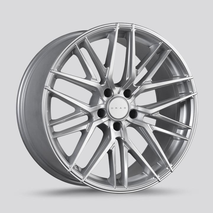 Drag Wheels DR77 - Silver Rim