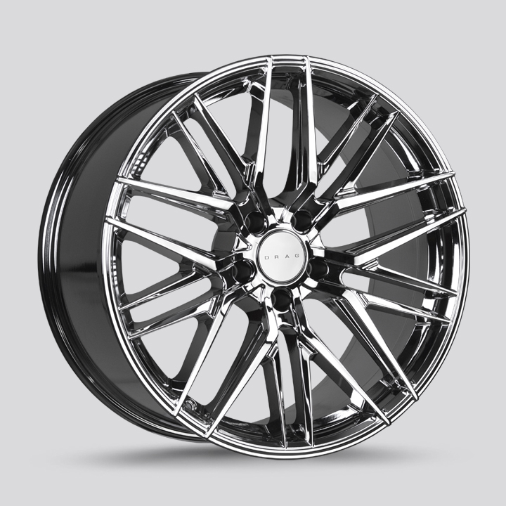 Drag Wheels DR77 - Virtual Chrome Rim