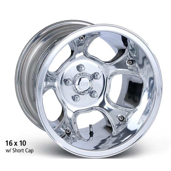 E-T Wheels Fueler (Custom) - Polished Rim