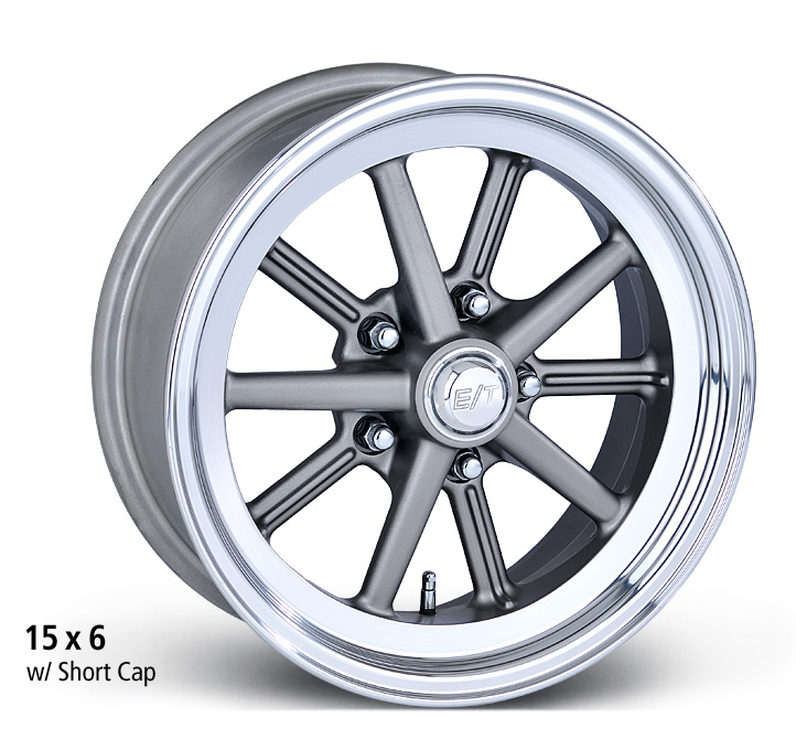 E-T Wheels Gasser - Cast Center/Polished Lip