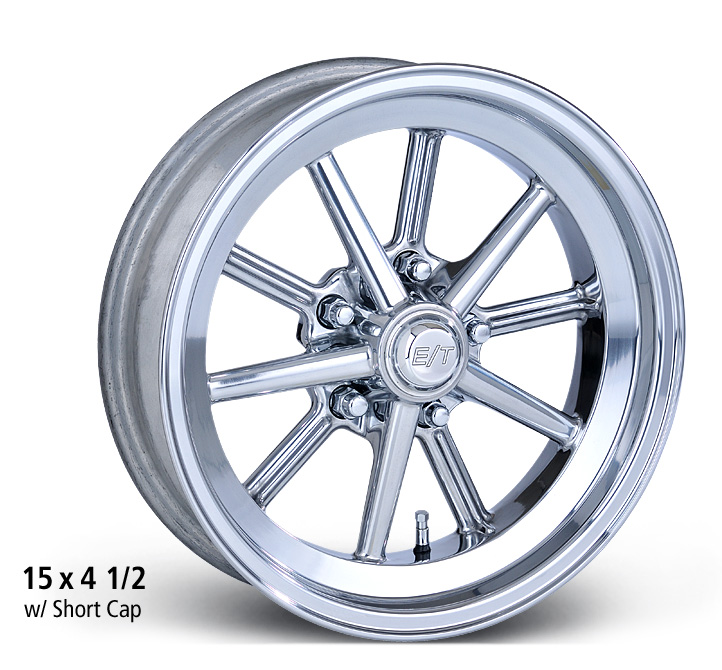 E-T Wheels Gasser - Polished Rim