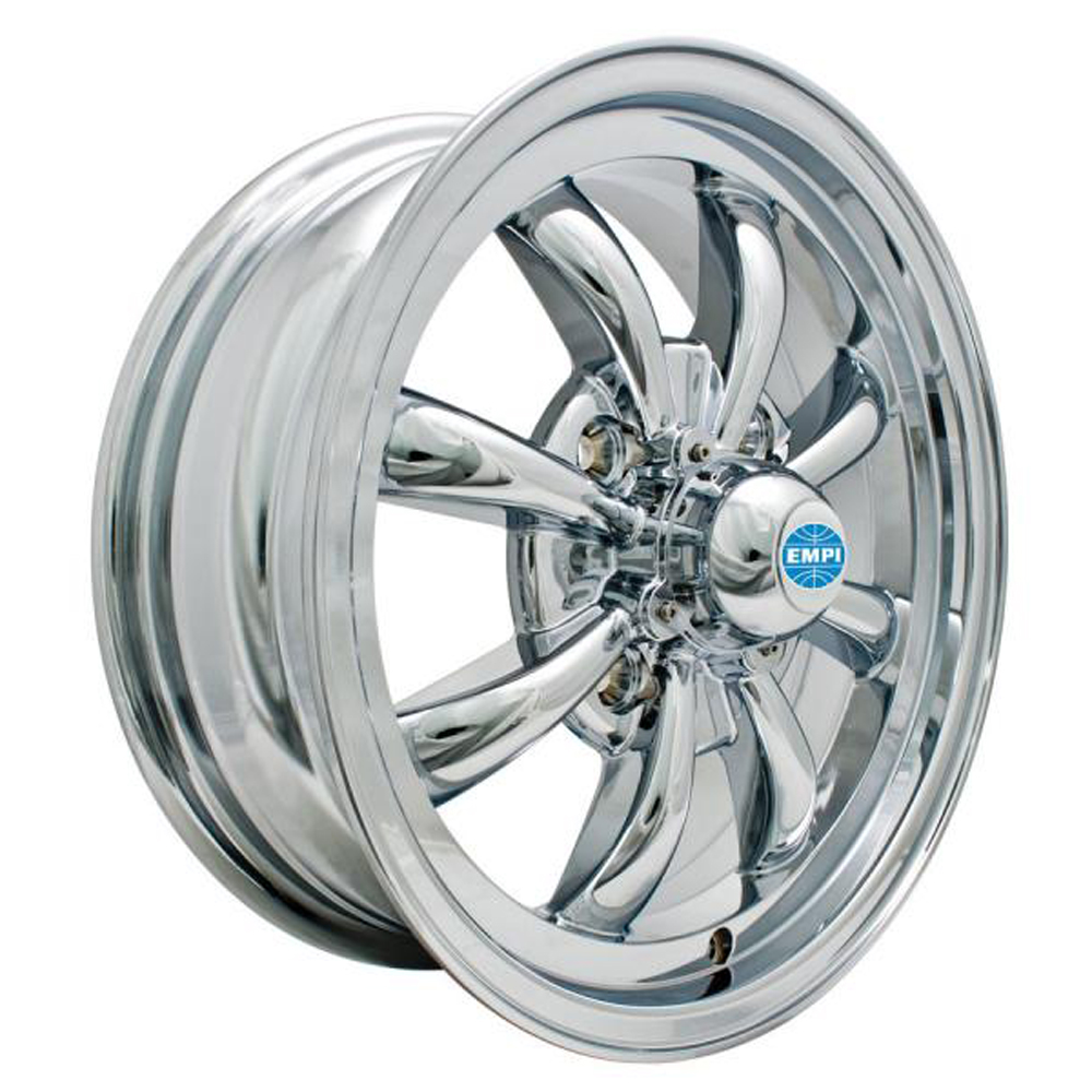 Empi Wheels GT-8 - Chrome Rim