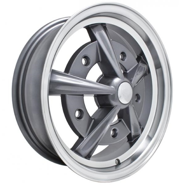 Empi Wheels Raider - Anthracite w/ Polished Lip Rim