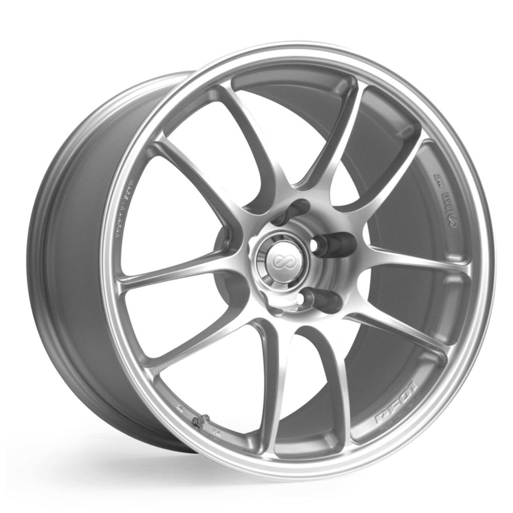 Enkei Wheels PF01 - Silver Rim