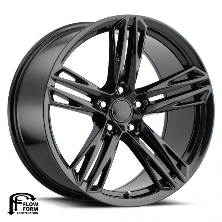 Factory Reproductions Wheels FR 35F ZL1 1LE Camaro - Satin Black Rim