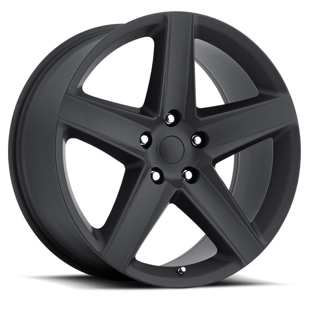 Factory Reproductions Wheels FR 63 SRT8 - Satin Blk Rim