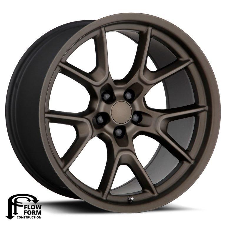 Factory Reproductions Wheels FR 66F Dodge Anniversary - Bronze Rim