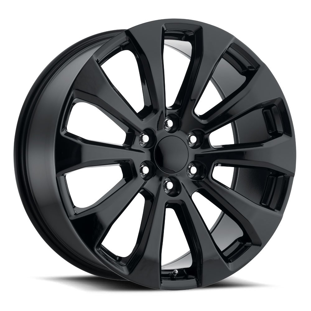 Factory Reproductions Wheels FR92 Silverado Split - Gloss Black Rim