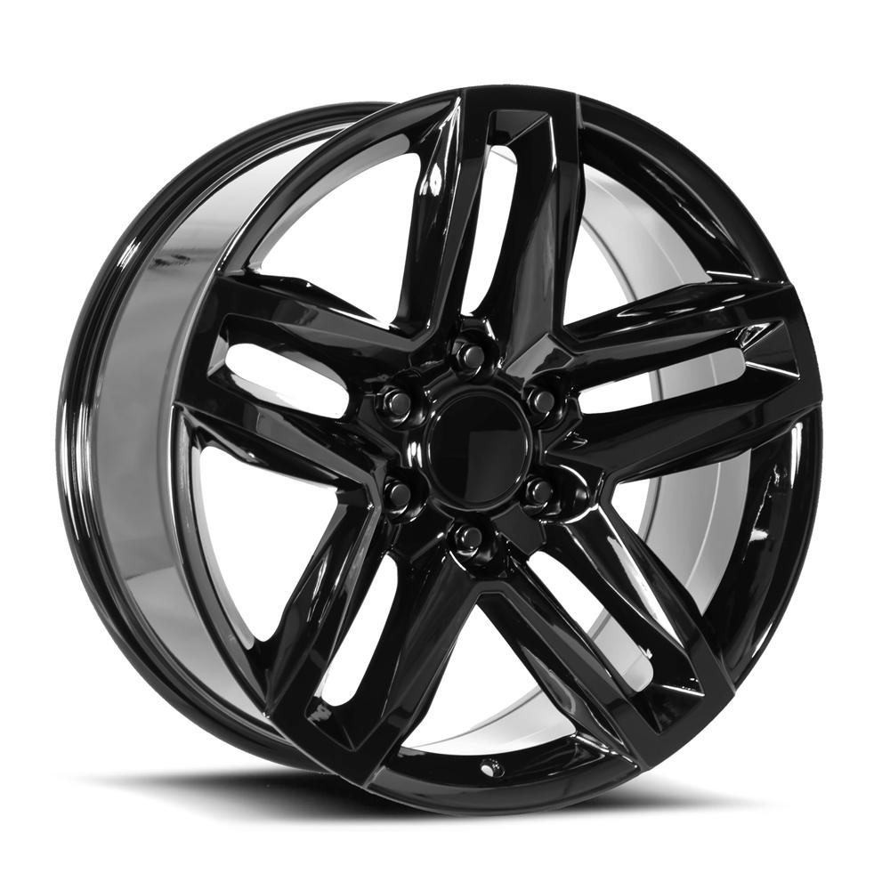 Factory Reproductions Wheels FR94 Z71 Split 5 Spoke - Gloss Black Rim