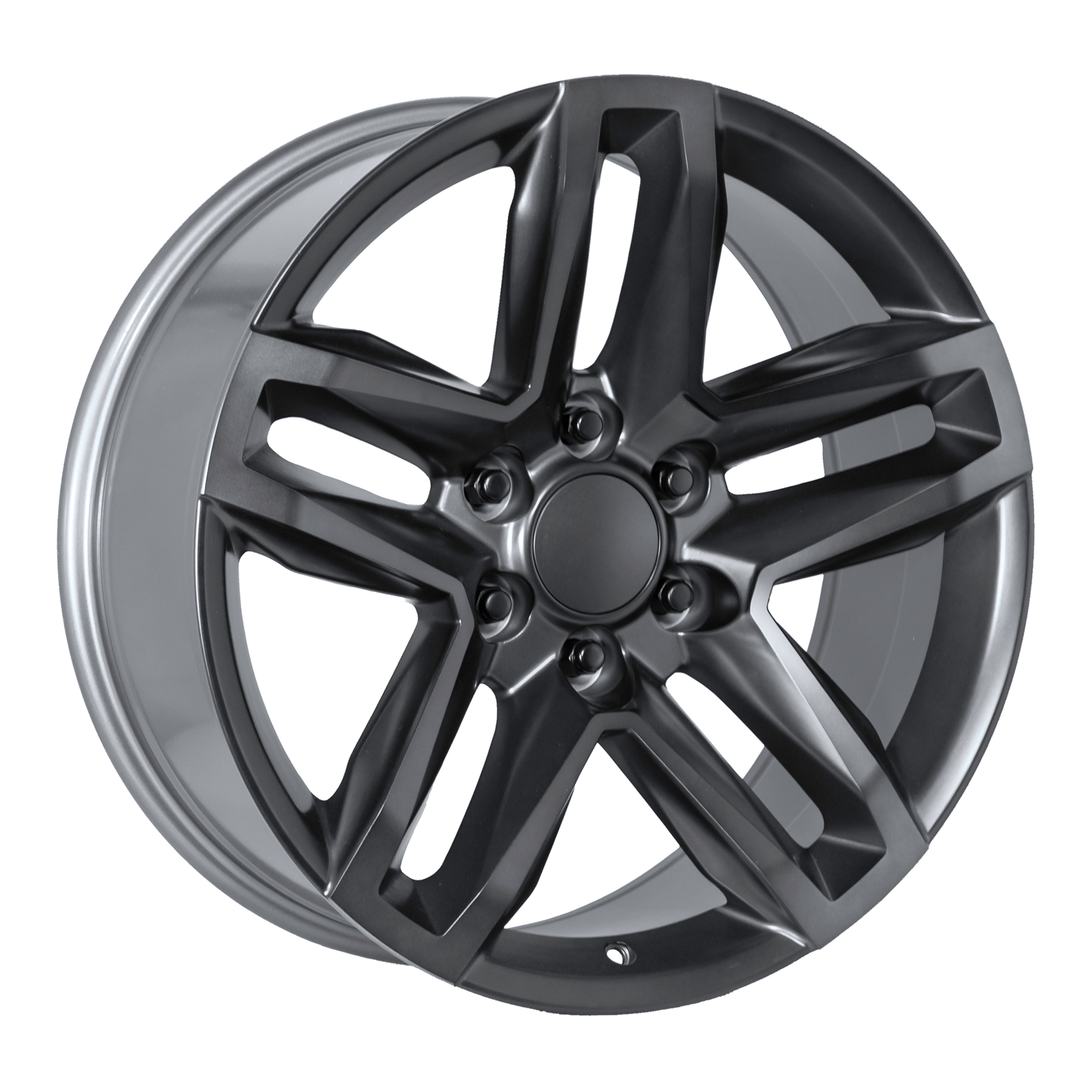 Factory Reproductions Wheels FR94 - Satin Titanium/Dk Grey Rim