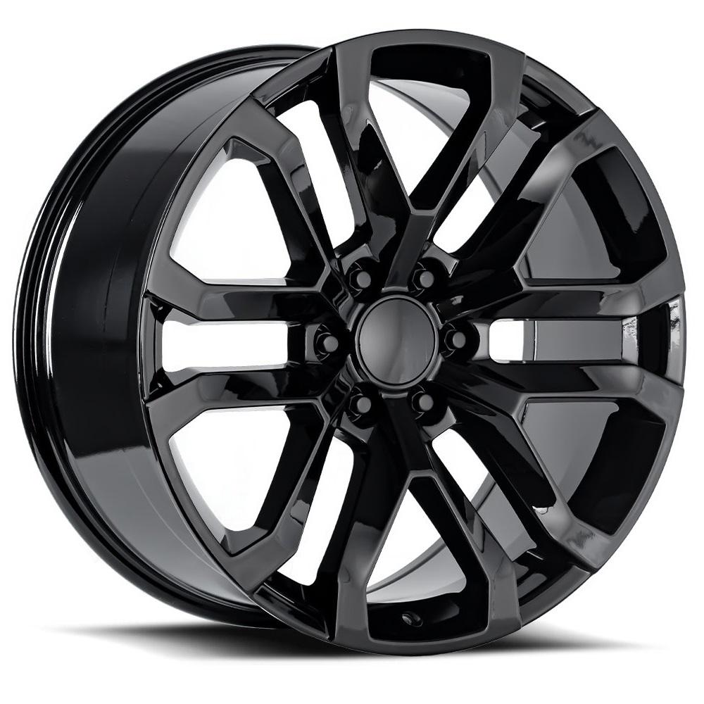 Factory Reproductions Wheels FR95 2019 Denali - Gloss Black Rim