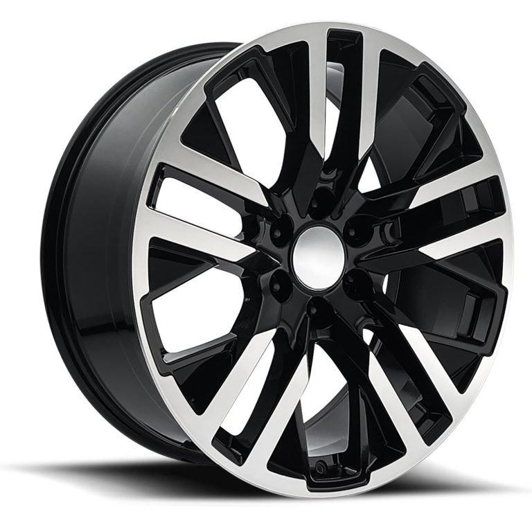 Factory Reproductions Wheels FR 96 GMC CarbonPro - Black Machined Face Rim
