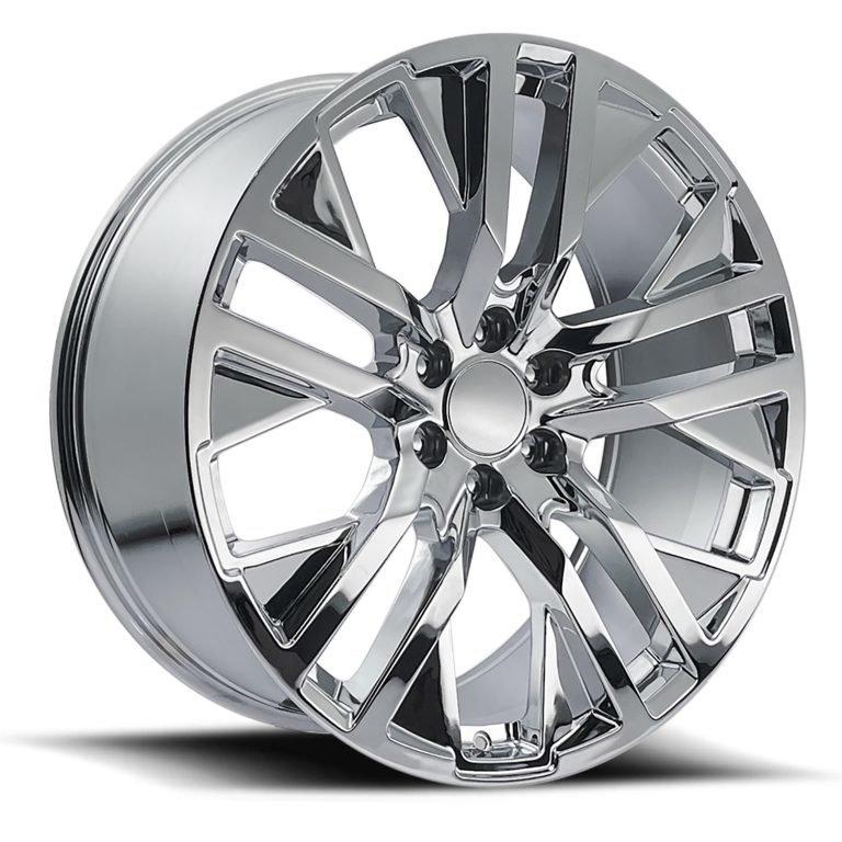 Factory Reproductions Wheels FR 96 GMC CarbonPro - Chrome Rim