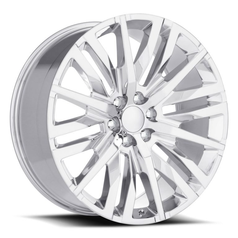 Factory Reproductions Wheels FR 97 GMC Split-6 Spoke - Chrome Rim