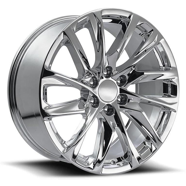 Factory Reproductions Wheels FR 98 Escalade 12 Spoke - Chrome Rim