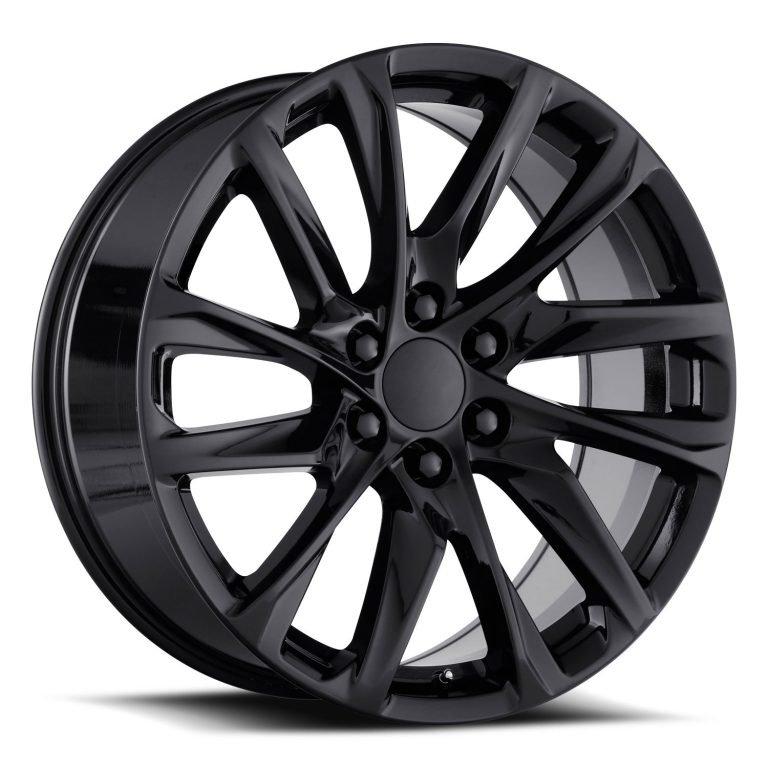 Factory Reproductions Wheels FR 98 Escalade 12 Spoke - Gloss Black Rim