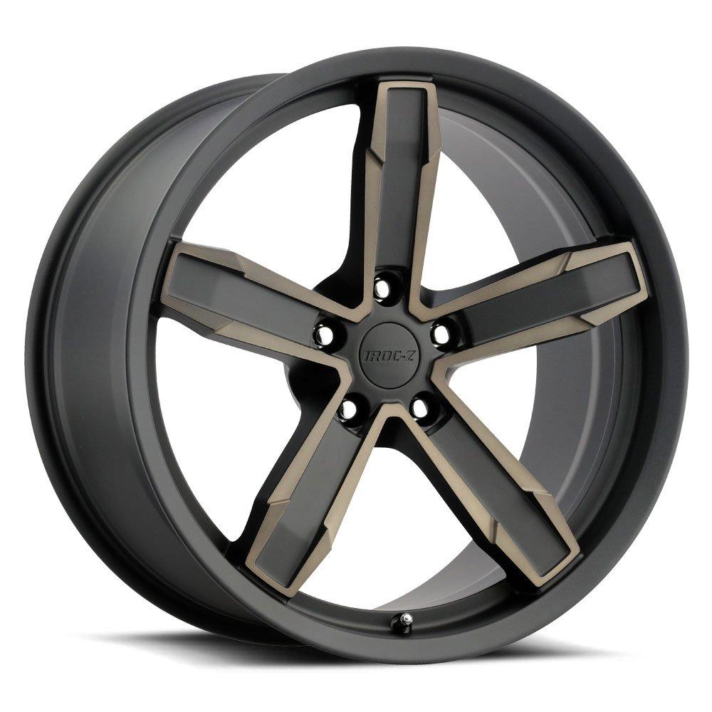 Factory Reproductions Wheels Z10 IROC-Z - Satin Black/Machined/Bronze Rim