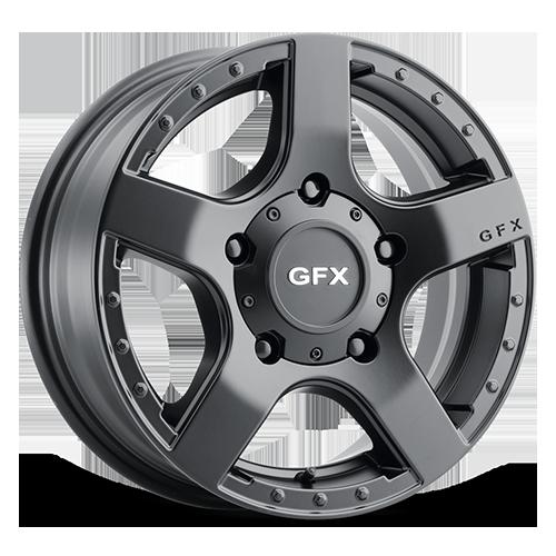 G-FX Wheels MV1 - Matte Black Rim