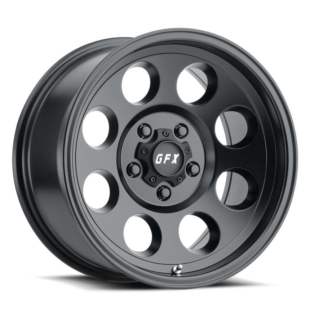 G-FX Wheels TR-16 - Matte Black Rim