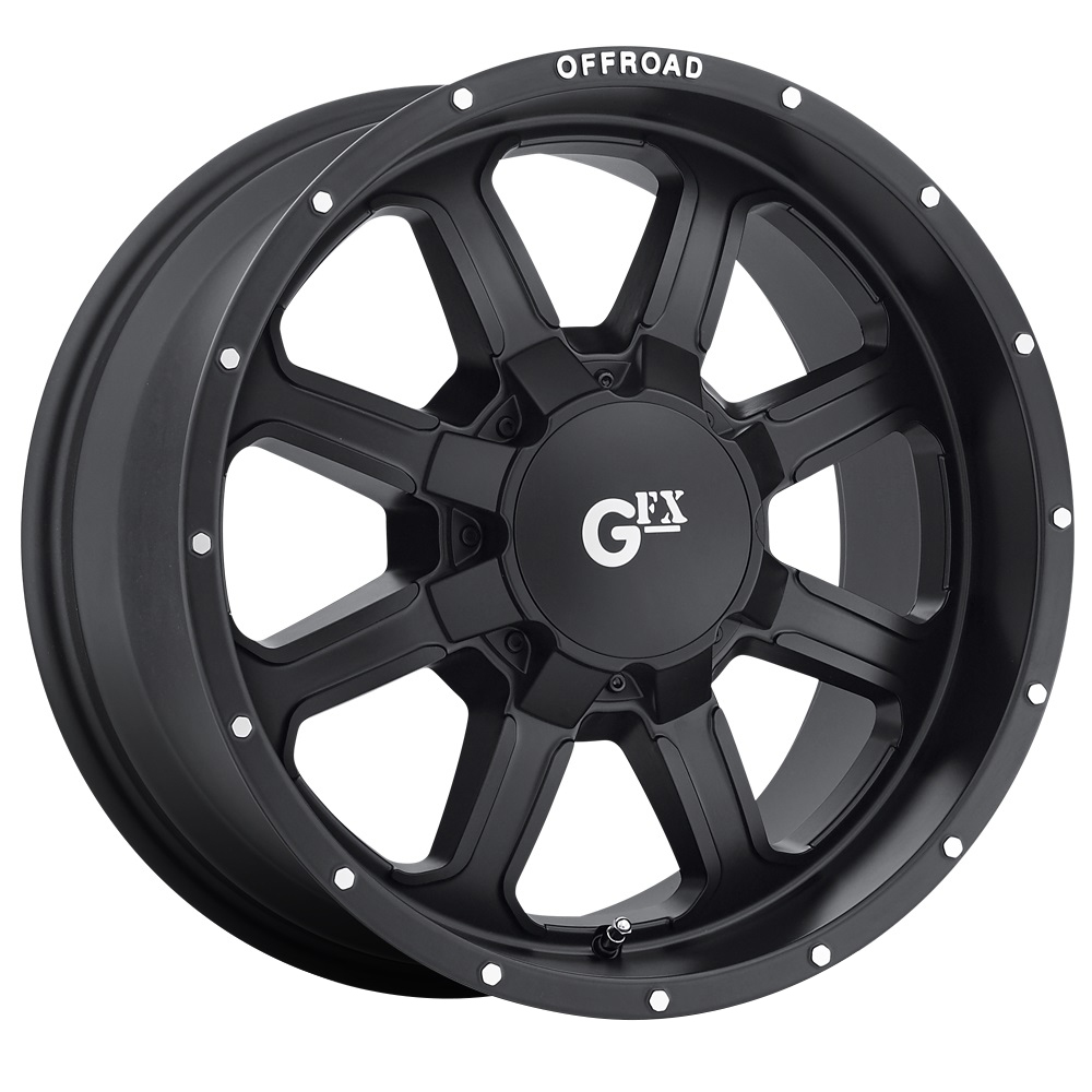 TR2 - Matte Black Machined Flange