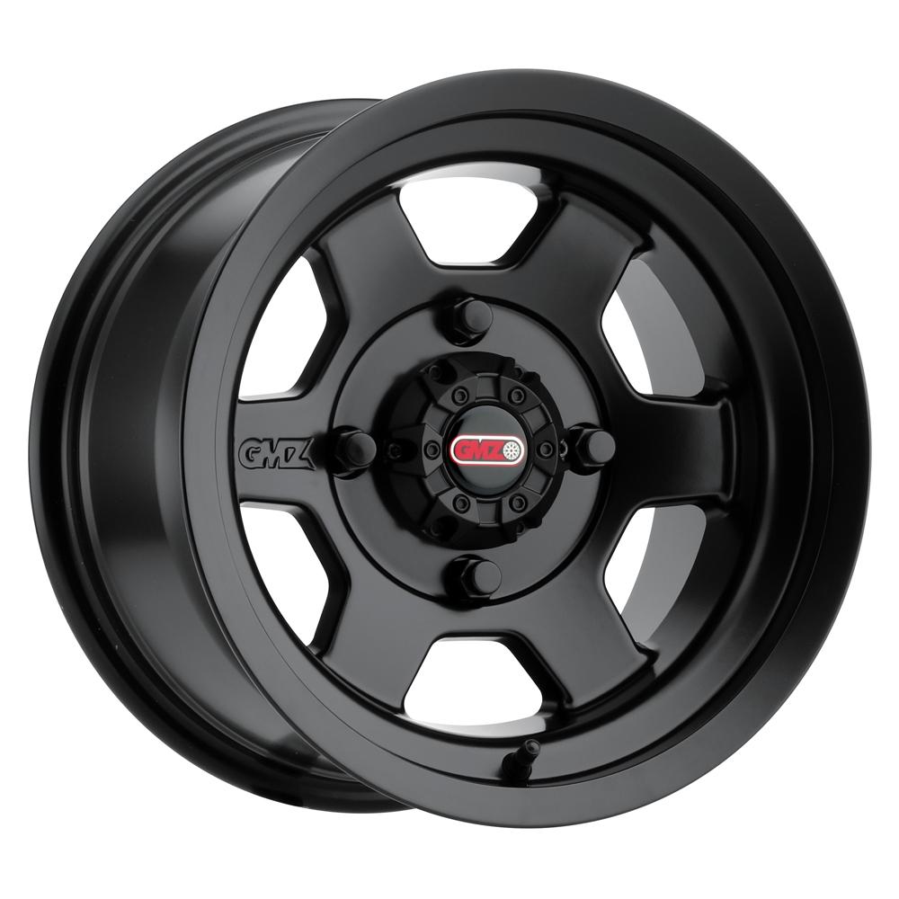 GMZ Race Products Wheels GZ804 Casino - Matte Black Rim