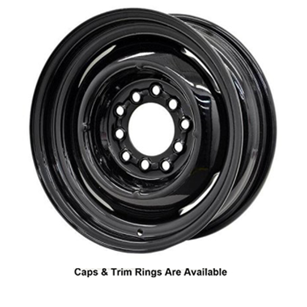 Hot Rod Hanks Wheels Gennie - Gloss Black Rim