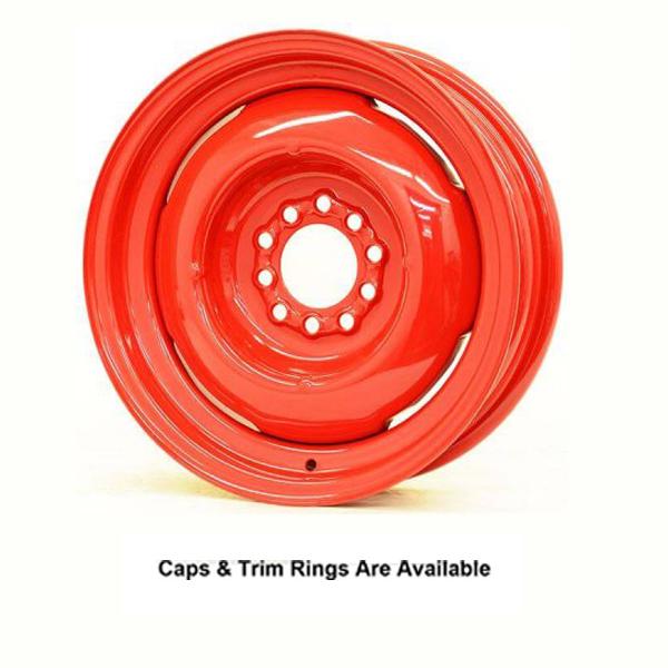 Hot Rod Hanks Wheels Gennie - Baron Red Rim