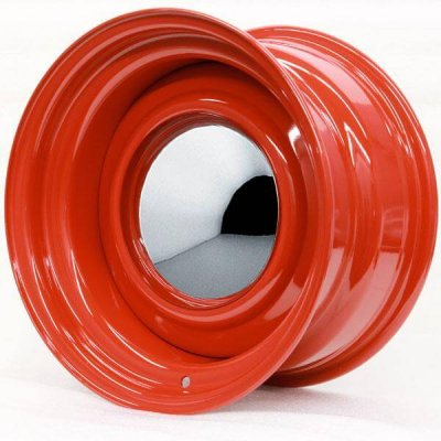Hot Rod Hanks Wheels Smoothie - Baron Red Rim