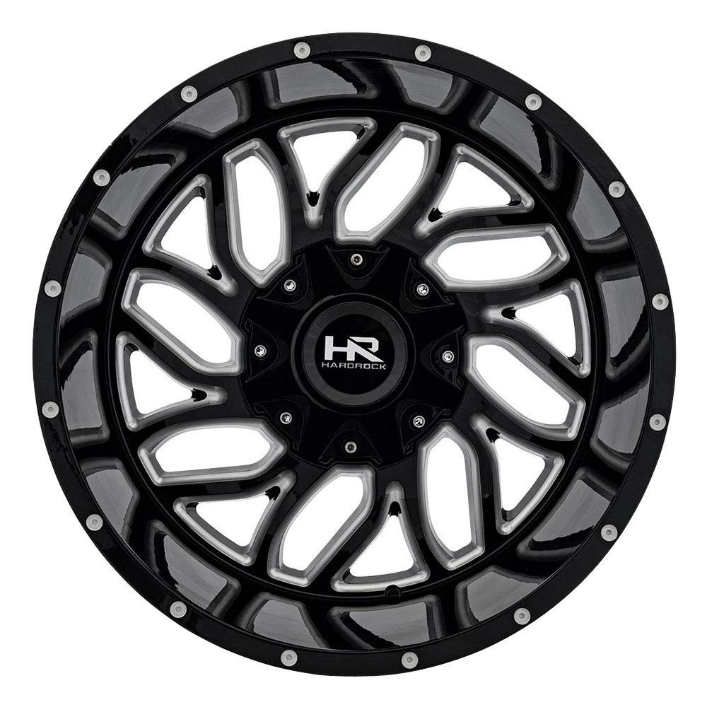 Hardrock Offroad Wheels Destroyer - Gloss Black Milled Rim