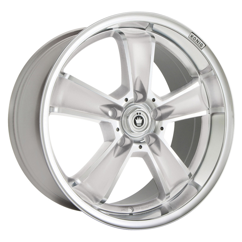 Konig Beyond - Silver w/Machined Face