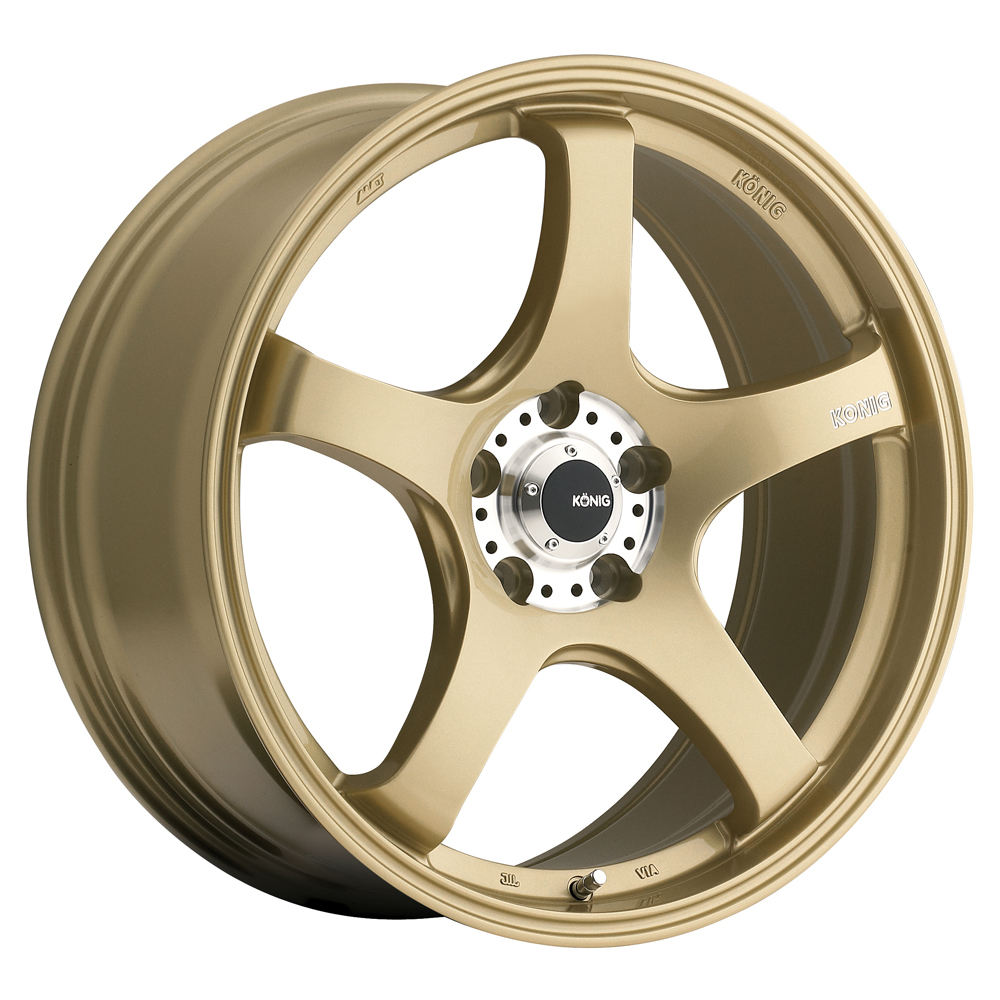 Konig Centigram - Gold / Machine PCD